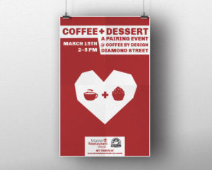 Poster For Coffee By Design Maine Restaurant Week Event