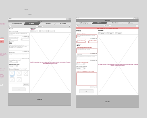 Wireframes For GreatLocal