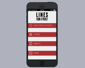 Lines From A Pocket App
